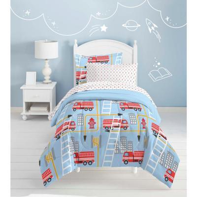 Fire Truck Comforter Set