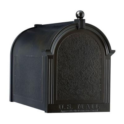 Streetside Mailbox in Black Product Photo