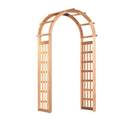 Glendale 86 x 41 in. Outside Cedar Arbor Product Photo