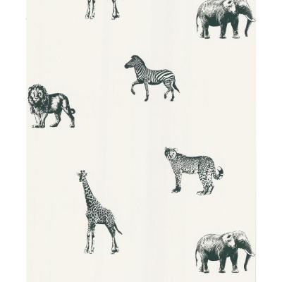 National Geographic 56 sq. ft. Safari Wallpaper