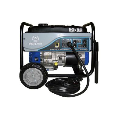 6,000-Watt Gasoline Powered Portable Generator-Storm Unit with 25 ft. Power Cord