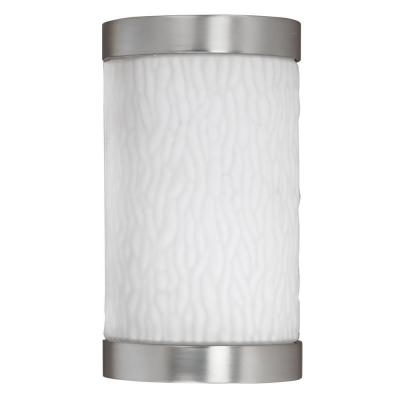 Radionic Hi Tech Orly Satin Nickel Outdoor Sconce