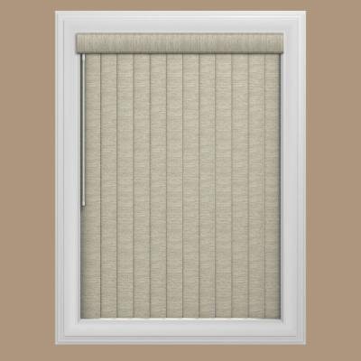 Tweed Gray 3.5 in. PVC Louver Set (9-Pack)
