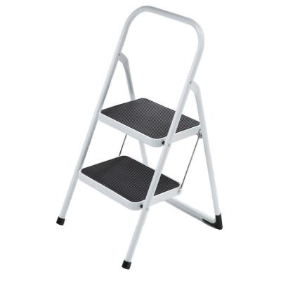 null 2-Step Highback Steel Step Stool Ladder-DISCONTINUED