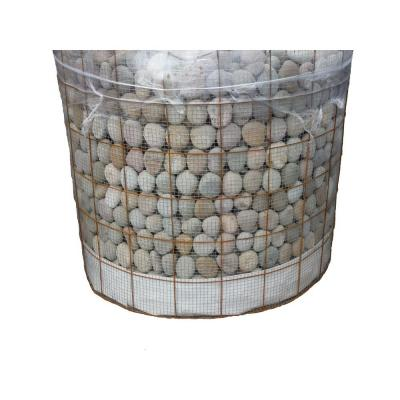2 in. to 3 in., 3000 lb. Buff Beach Pebbles (Bulk Pallet) Product Photo