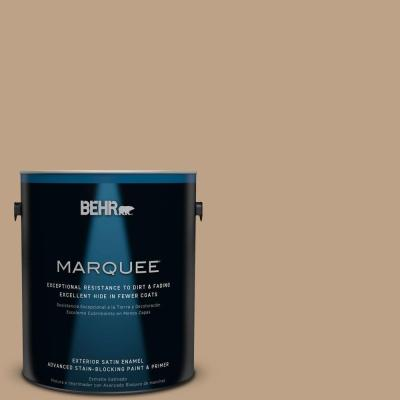 BEHR MARQUEE 1-gal. #PPU4-5 Basketry Satin Enamel Exterior Paint