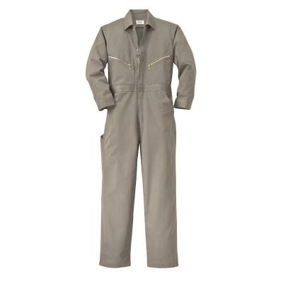 Walls Twill Non-Insulated 46 in. Regular Long Sleeve Coverall in Khaki