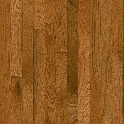 Plano Oak Gunstock 3/4 in. Thick x 2-1/4 in. Wide x Random Length Solid Hardwood Flooring (20 sq. ft. / case) Product Photo