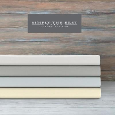 Simply The Best Luxury 620 Thread Count 6-Piece Set Collection - Sheet Set