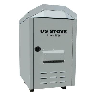 US Stove 3,000 sq. ft. Outdoor Coal / Wood-Burning Stove / Furnace
