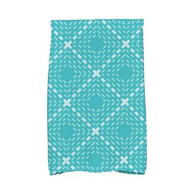 16 in. x 25 in. Dots and Dashes Geometric Print Kitchen Towels