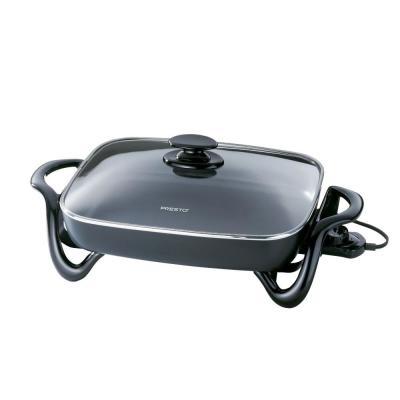 Presto 185 sq. in. Electric Skillet with Glass Cover