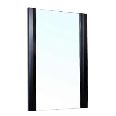 Colchester 32 in. L x 20 in. W Wall Mirror in Black Product Photo