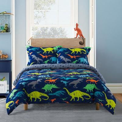 Dino Blue Comforter Set