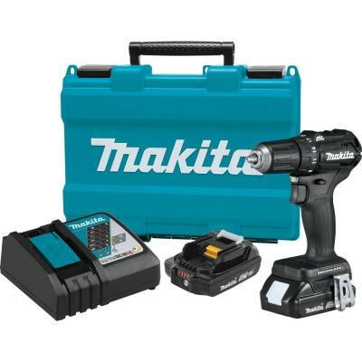 Makita 18-Volt 2.0Ah LXT Lithium-Ion Sub-Compact Brushless Cordless 1/2 in. Driver Drill Kit