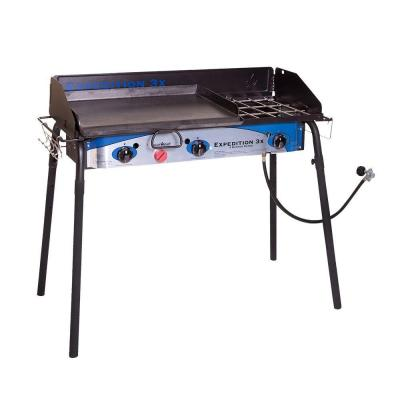 Camp Chef Expedition 3X 3-Burner Propane Gas Stove-TB90LWG
