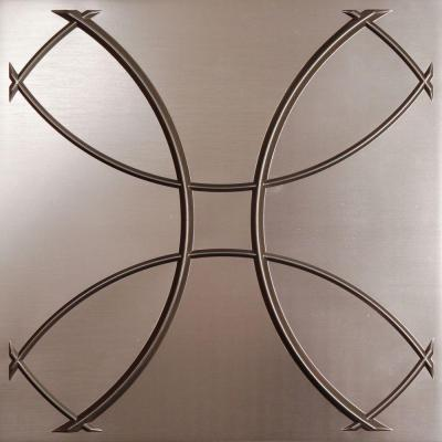 Ceilume Celestial Faux Tin Evaluation Sample, Not suitable for installation - 2 ft. x 2 ft. Lay-in or Glue-up Ceiling Panel