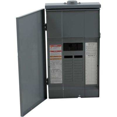 QO 150 Amp 20-Space 30-Circuit Outdoor Main Breaker Load Center with
