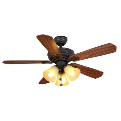 Hampton Bay 44 inch 5 Blades Westmount 3-Lights Ceiling Fan