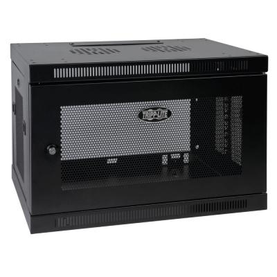 Tripp Lite 9U Wall Mount Rack Enclosure Cabinet Wallmount with Door and Sides