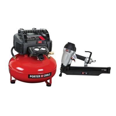 porter cable 3 12 in round head framing nailer and compressor combo fr350bpcfp02003 the home depot