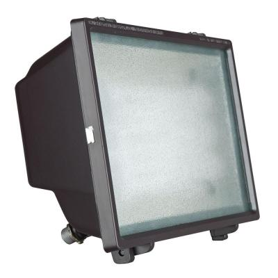Luminance Bronze Outdoor Fluorescent Flood Fixture