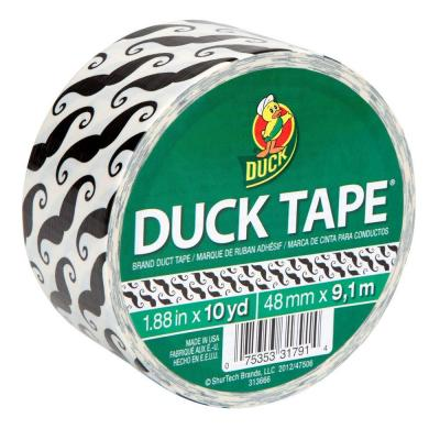 Duck 1.88 in. x 10 yds. Mustache Duct Tape