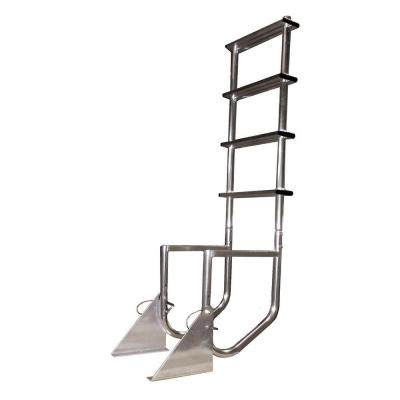 Multinautic Aluminum 4-Step Flip-Up Dock Ladder