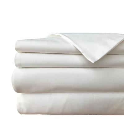 Yue Home Textile Solid Linen Cotton Sheet Set