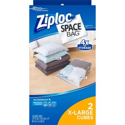 Xlarge Plastic Cube Space Bag Combo 3-2/pack