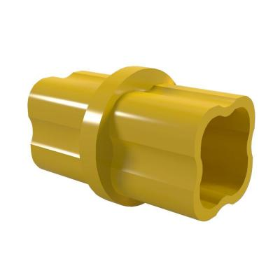1/2 in. Furniture Grade PVC Sch. 40 Internal Coupling in Yellow