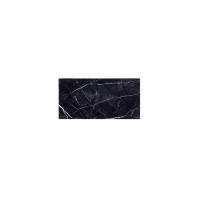 Nero Marquina 3 in. x 6 in. Polished 10 mm Marble