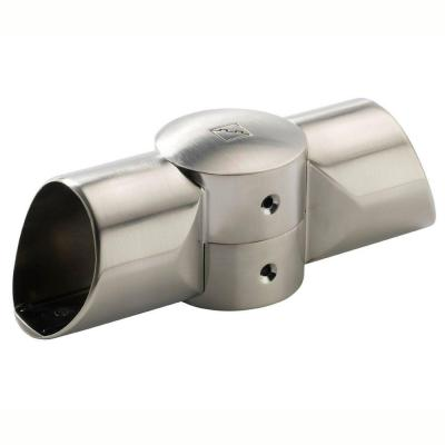 Fusion Brushed Nickel Landing Connector