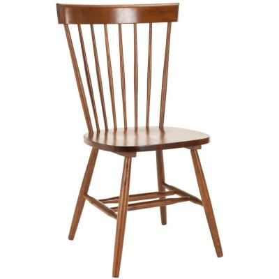 Safavieh Riley Dining Chair in Light Brown (Set of 2)
