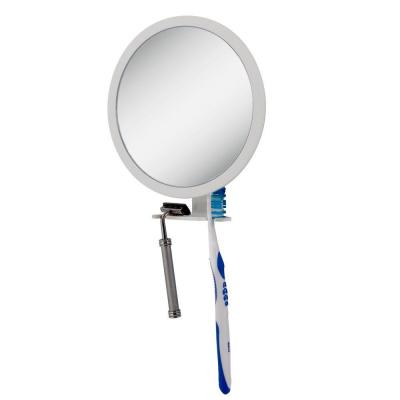 Zadro 6.75 in. x 8.5 in. 5X-1X Adjustable Magnification Fogless Mirror in White