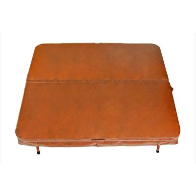 90 in. x 90 in. X 4 in. Spa Cover in Sierra Red Product Photo