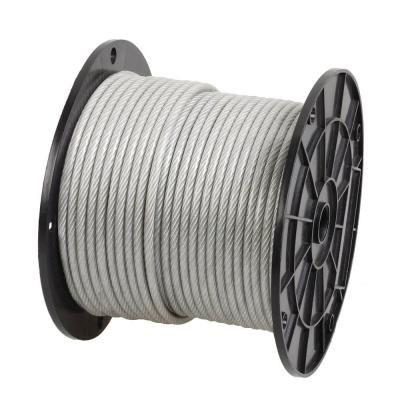 Crown Bolt 1/4 in. - 5/16 in. x 200 ft. Galvanized Vinyl-Coated Wire Rope