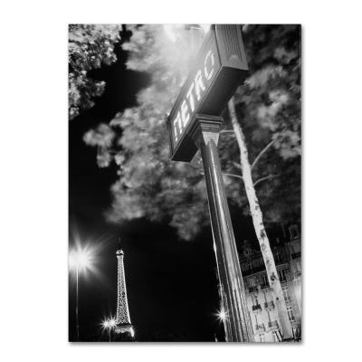 32 in. x 26 in. Metro Canvas Art