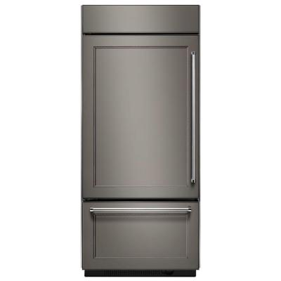 20.9 cu. ft. Built-In Bottom Freezer Refrigerator, Panel Ready with Platinum