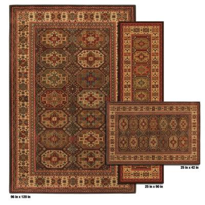 Mohawk Home Tuscun Light Beige 8 ft. x 10 ft. 3 Piece Rug Set-DISCONTINUED
