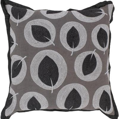 Artistic Weavers LeavesA1 18 in. x 18 in. Decorative Down Pillow-DISCONTINUED