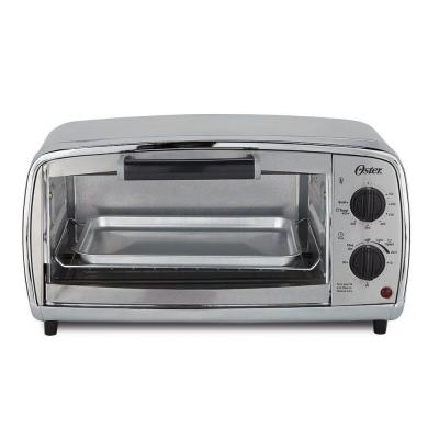 Oster 4-Slice Toaster Oven in Stainless