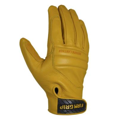 Leather Impact Tan Full Grain Leather Glove