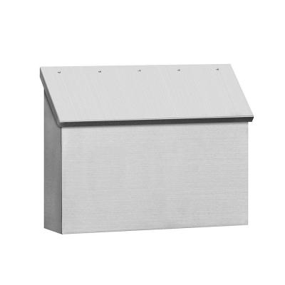 4500 Series Stainless Steel Standard Horizontal Mailbox Product Photo