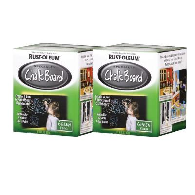 Rust-Oleum Specialty Specialty Chalkboard Green Quart Brush-On Paint, 2-Pack-DISCONTINUED