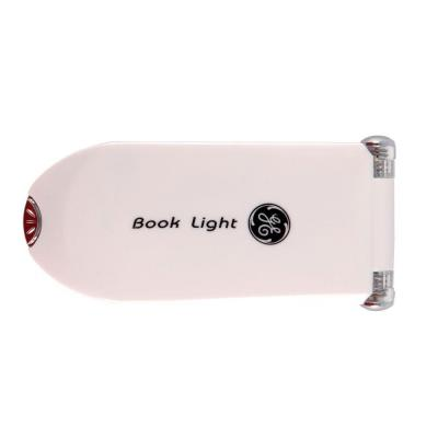 GE White LED Battery-Operated Clip-On Booklight-DISCONTINUED