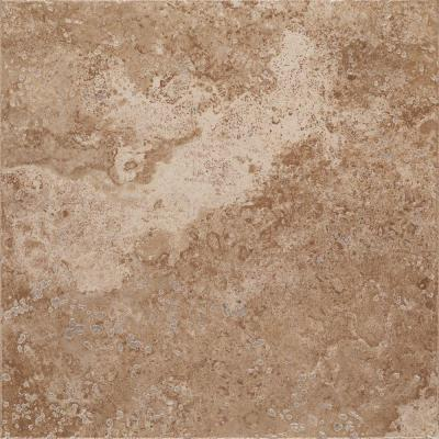 Marazzi montagna cortina 20 in x 20 in porcelain rustic for 16 inch floor tile