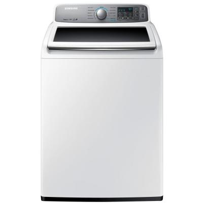 Samsung 4.8 cu. ft. High-Efficiency Top Load Washer in White, ENERGY STAR