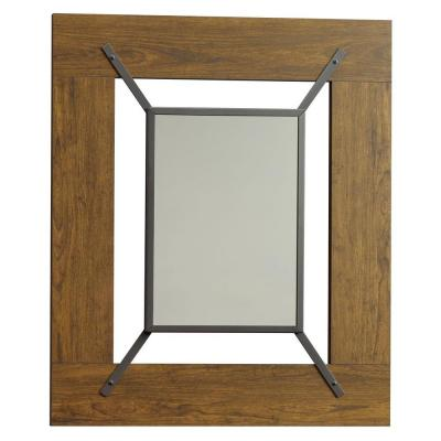 Carson Forge Collection 36 in. x 30 in. Washington Cherry Framed