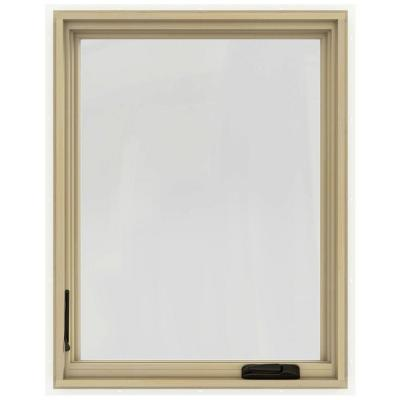 30.75 in. x 36.75 in. W-2500 Right-Hand Casement Wood Window Product Photo